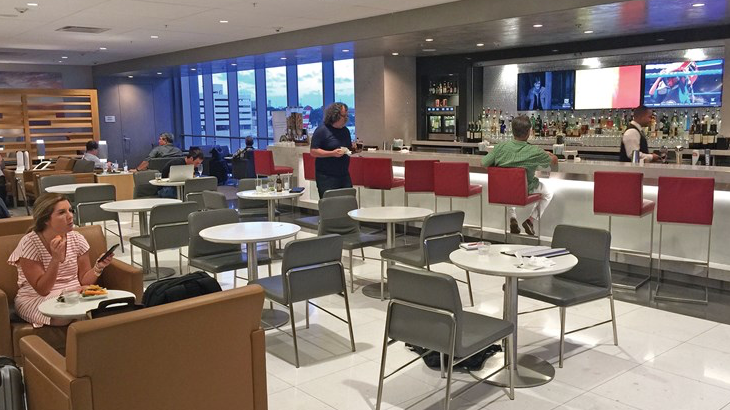 American Airlines Lounges Reopening